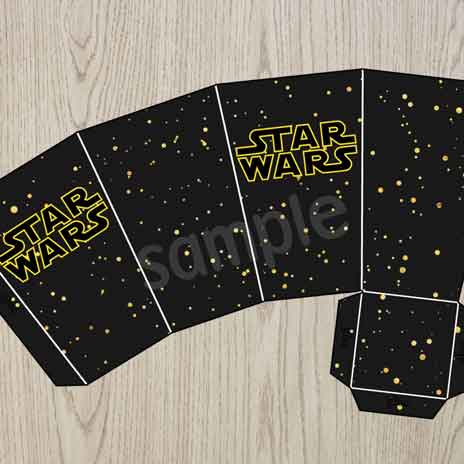 printable star wars treat boxes