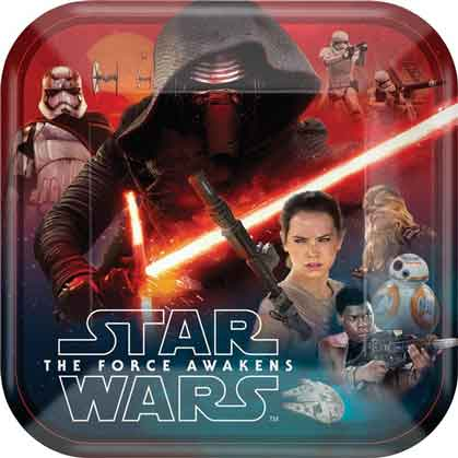 force awakens party plates