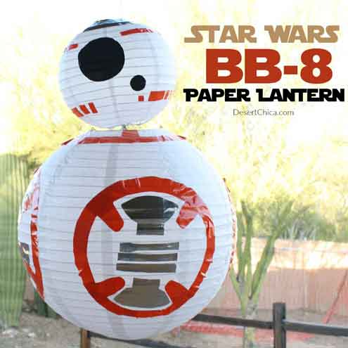 BB8 paper lanterns