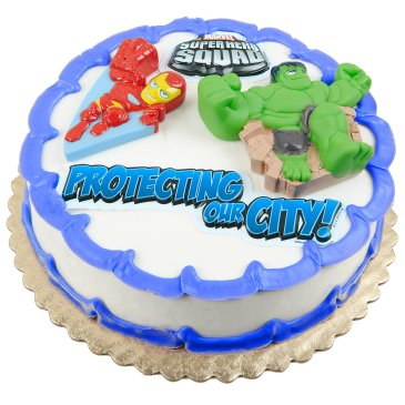 superhero squad cake topper decorations