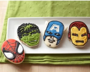 superhero cookie cutters
