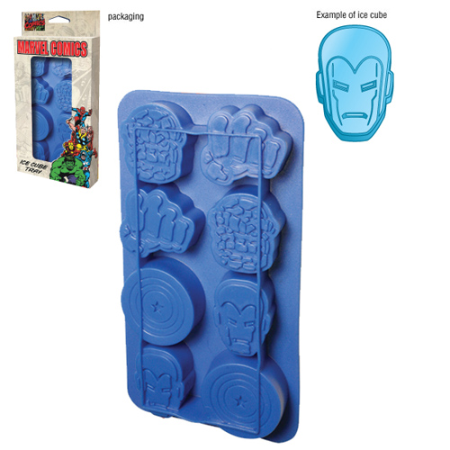 superhero ice cube tray