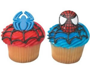 superhero cake toppers