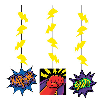 superhero decorations