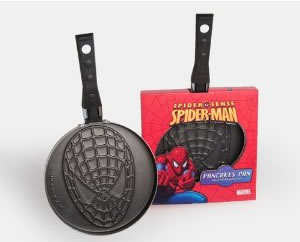 spiderman pancake pan