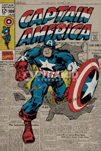 superhero posters
