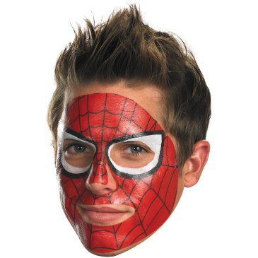 superhero face tattoo