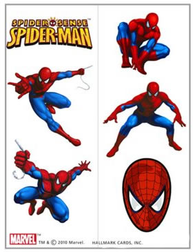 spiderman tattoos