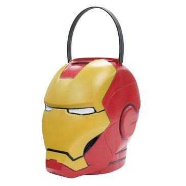 superhero halloween treat pail