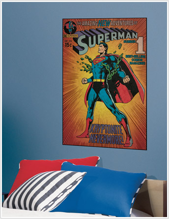 comic book wall stickers