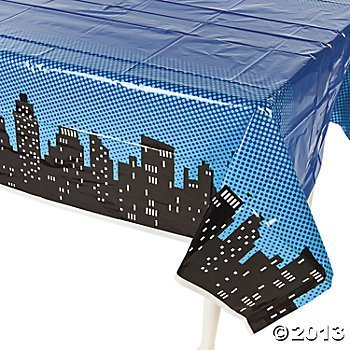 cityscape tablecover