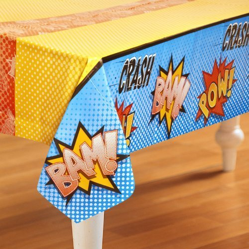 superhero tablecover