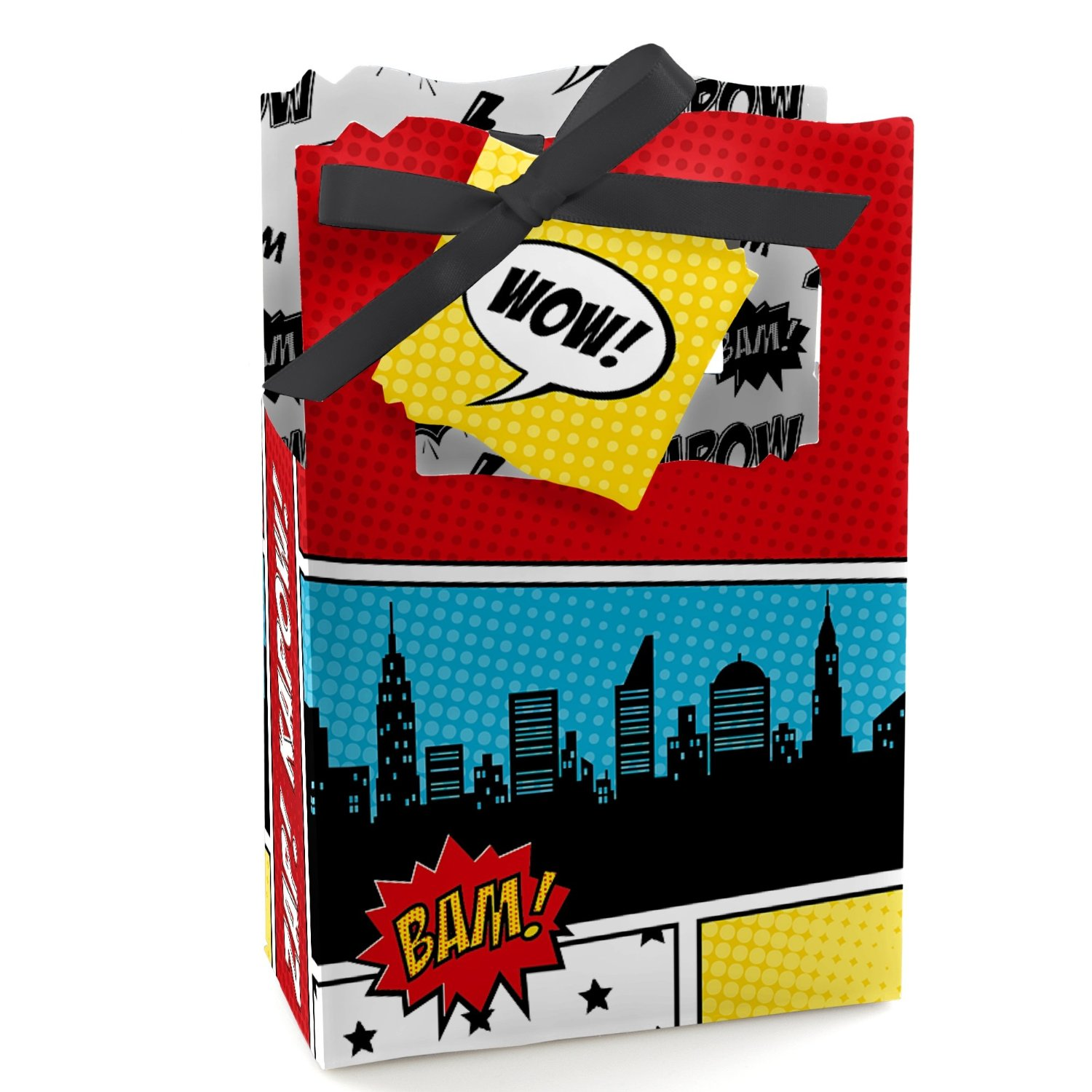 superhero party favor bags
