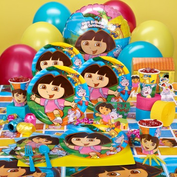 Dora Birthday Party Kit Image Inspiration of Cake and Birthday