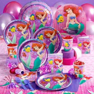 TODDLER BIRTHDAY PARTIES LITTLE MERMAID