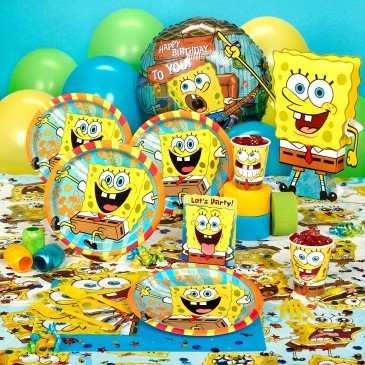 TODDLER BIRTHDAY PARTIES SPONGEBOB