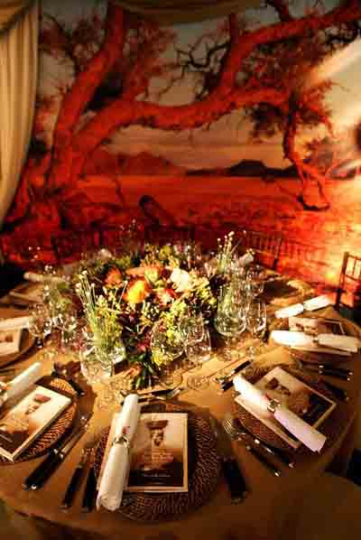 Wine tasting party ideas by a professional party planner for African party decoration