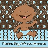 modern boy african american theme