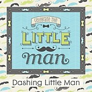 little man party theme