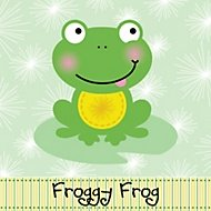 froggy frog party theme