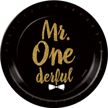 mr one deful party theme