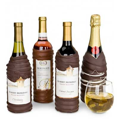 Chocolate Dipped Wine