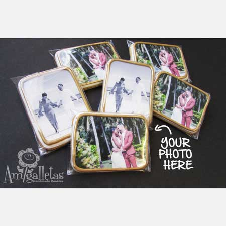 custom photo cookies