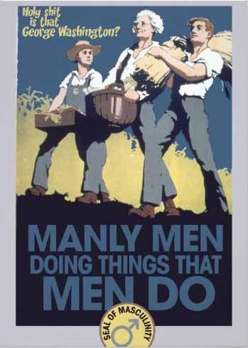 Manly Men Doing Things That Men Do invitation