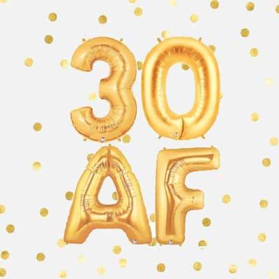 30 AF ballons