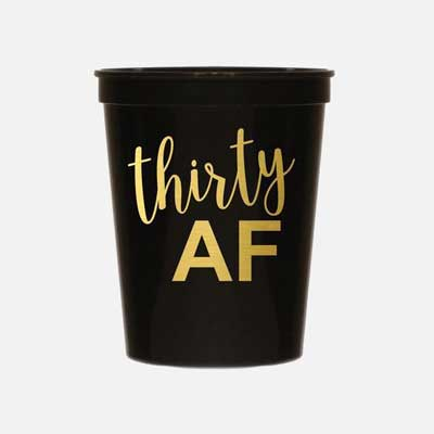 30 AF party cups