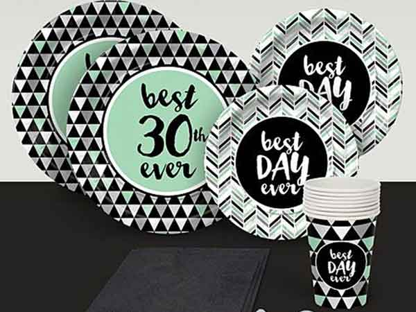 Best Day Ever 30th birthday party supplies