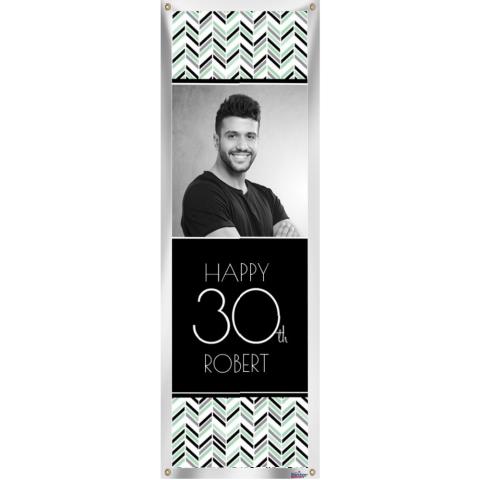 Best Day Ever 30th birthday custom banner