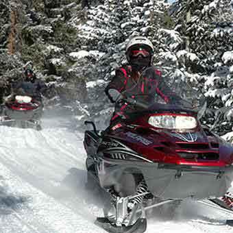 snowmobile tours