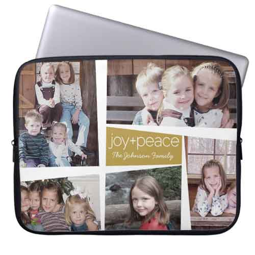 custom photo collage computer case cover