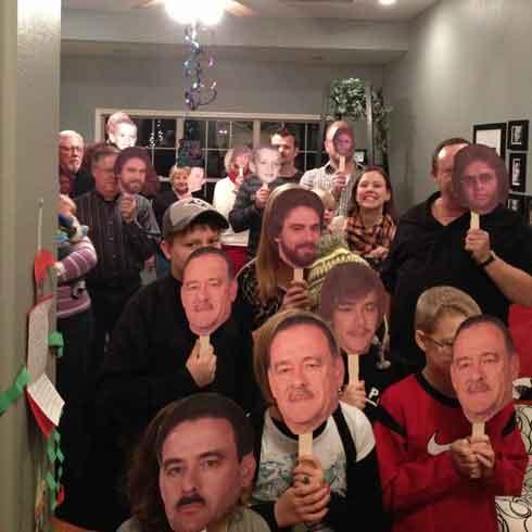 fan faces surprise party