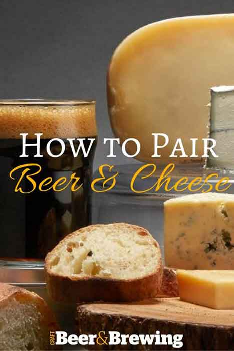 how to pair beer and cheese