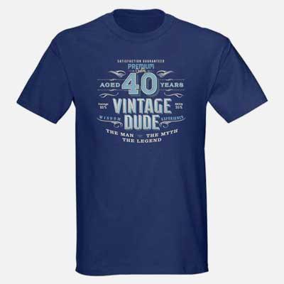 Vintage Dude T Shirt