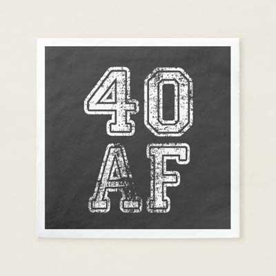 40 AF napkins