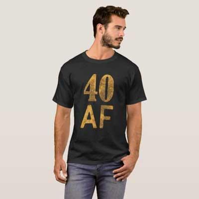 40 AF T Shirt