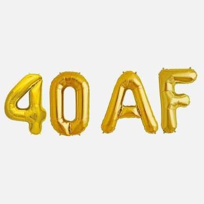 40 AF ballons