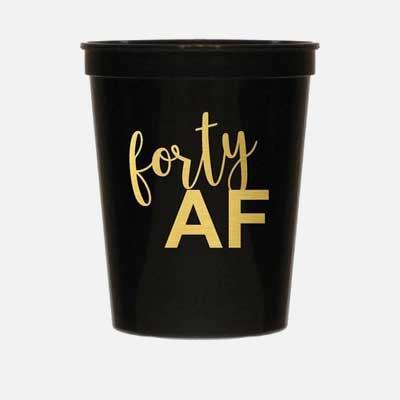 40 AF party cups