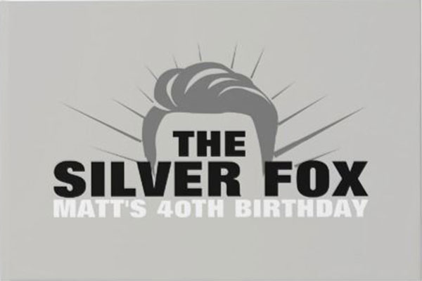 The Silver Fox party theme
