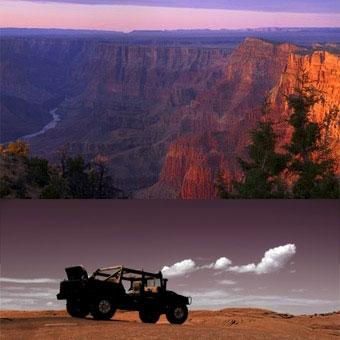Cessna & Jeep Tour & Dine