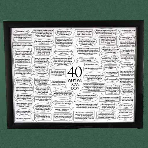 40 Reasons We Love You