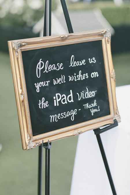 ipad video messages