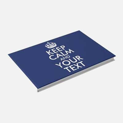 Custom Keep Calm guest book