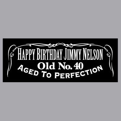 custom Jack Daniels party labels