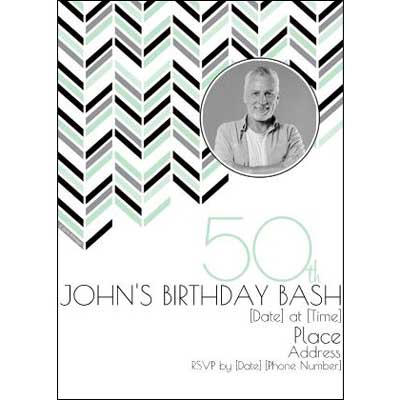 Best 50th Ever invitations
