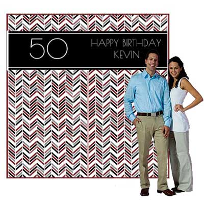 Best Day Ever 50th backdrop