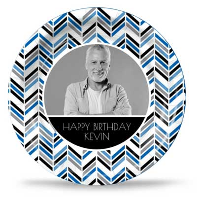 Best Day Ever 50th birthday custom party plates
